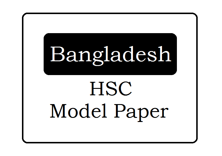 BD HSC Suggestion Question Papers 2019