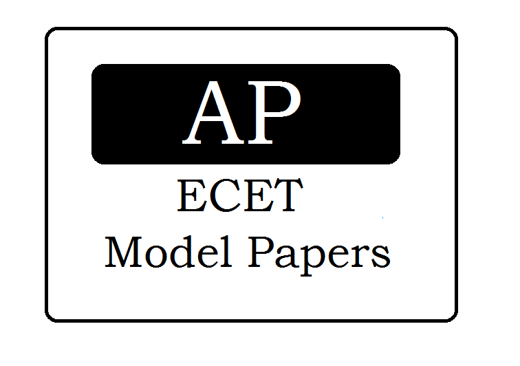 AP ECET Model Papers 2021