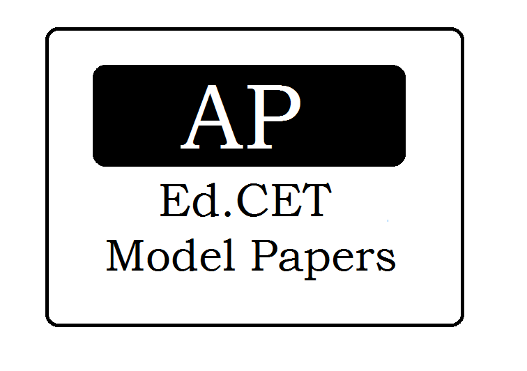 AP Ed.CET Mock Test Papers 2021