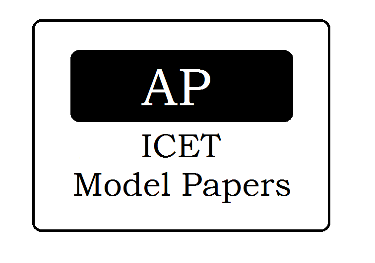 AP ICET Mock Test Papers 2021