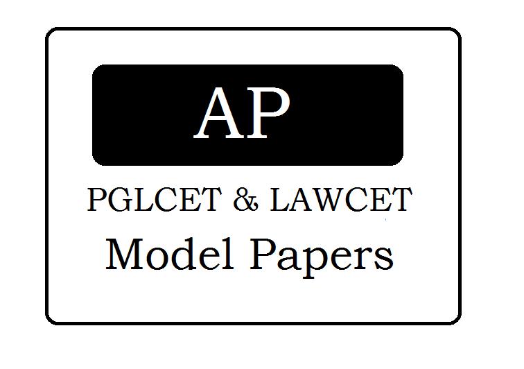 AP LAWCET & PGLCET Model Papers 2020
