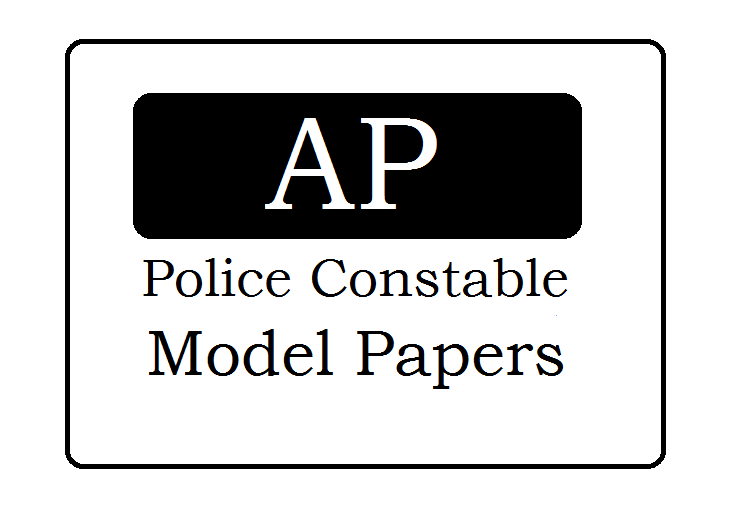 AP Police Constable Question Papers 2020