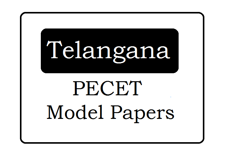 TS PECET Question Papers 2021