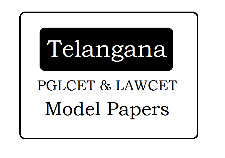 TS PGLCET & LAWCET Model Papers 2020