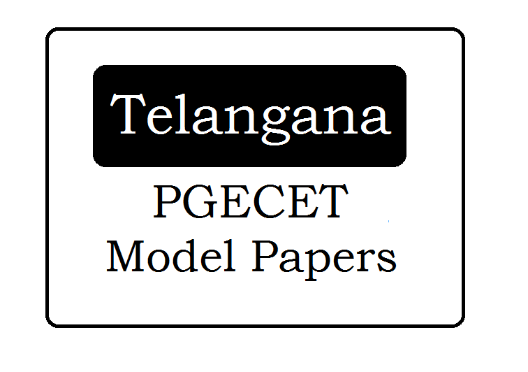 TS PGECET Question Papers 2020