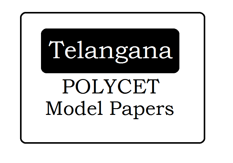 TS POLYCET Question Papers 2020